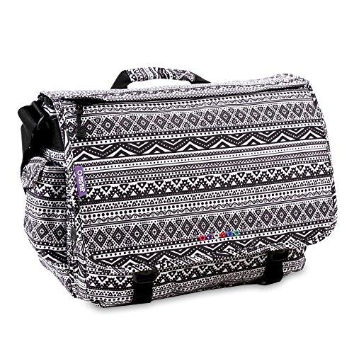 J World New York Thomas Laptop Messenger Bag, Tribal