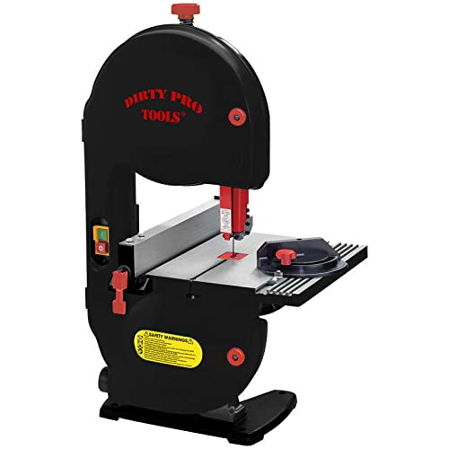Dirty Pro Tools™ Professional Band Saw 350w Motor 190mm Cutting Width Table Saw Bandsaw Bench