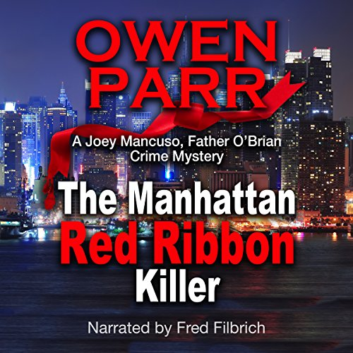 The Manhattan Red Ribbon Killer audiobook cover art