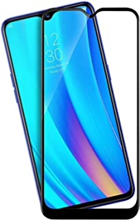 Tempered Glass for Realme 3 Pro (Black) - Full Screen