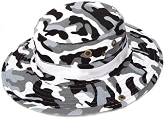 Fishing Sun Boonie Hat Summer UV Protection Cap Outdoor Camouflage Hat