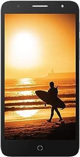 """Alcatel Pop 4 Plus Factory Unlocked Phone - 5.5"""" Screen - 16GB - Metal Silver (U.S Warranty)"""