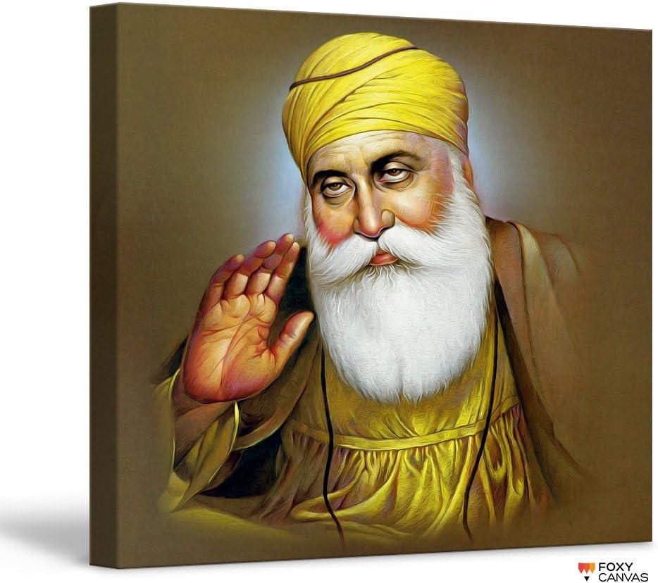 Guru Nanak Dev Ji Poster Wall Art Print Picture Sikh Sikhism A3 A4 Laminated #01