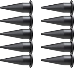 JES Innovations Cone Nozzle for Sausage and Bulk Caulk Guns, 10-Pack