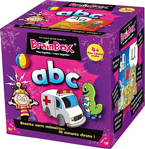 The Green Board Game - Brain Box - ABC - 5025822933201 [Importato dalla Francia]