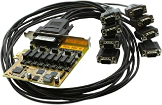 SERIALGEAR PCI Express to 8-Port RS422/485 Serial Optical Iso Surge Protection