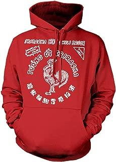 Sriracha Hot Chili Sauce Men's Hooded Sweatshirt Hoodie