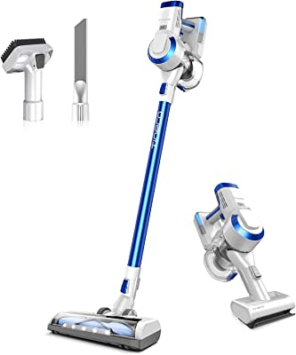 Tineco A10 Hero Cordless Stick/Handheld Vacuum Cleaner, Super Lightweight with Powerful Suction for Carpet, Hard Floor & Pet - Space Blue