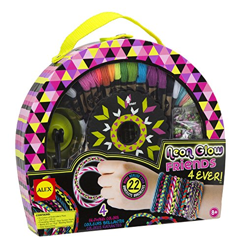 ALEX Toys Craft Neon Glow Friends 4Ever