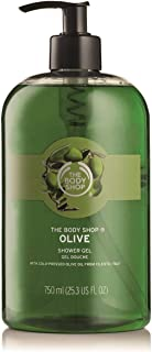 The Body Shop Olive Shower Gel Jumbo 750ml - Cleanse and develop your skin in softness.