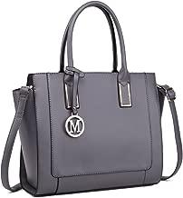 Miss Lulu Handbags for Women Shoulder Bag Purse Structured Work Top-handle Tote Crossbody Bags