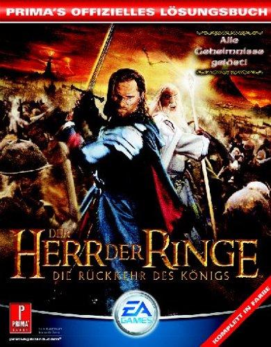 Der Herr der Ringe 3 - Die Rückkehr des Königs (Lösungsbuch)