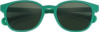 PARAFINA TRADEMARK - PARAFINA Orca Gafas de Sol para Niño y Niña con Lentes Verdes y Protección UV400 (no polarizado), Resistentes al Agua y Flexibles, Montura Eco-Friendly color Verde