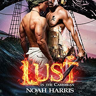 Lust in the Caribbean audiobook cover art