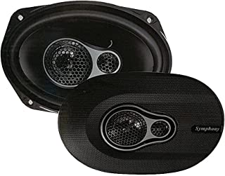 Symphony 3-way oval way3 / 650W car speaker set model SY-9694