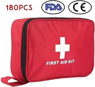 comprar comparacion Botiquín de Primeros Auxilios de 180 Piezas WEINAS® Kit de Primeros Auxilios Súper Compacto y Profesional para Hogar, Ofic...