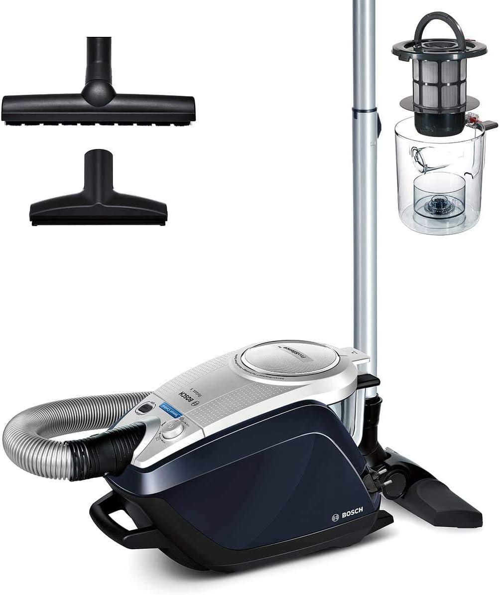 Bosch Staubsauger beutellos Relaxx'x ProSilence Plus BGS5BL432, extra leise, ideal für Allergiker, Hygiene-Filter, Bodendüse für Parkett, Teppich,...