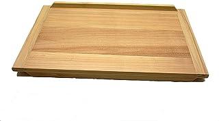 Gluecksshop Backbrett groß , Nudelbrett XXL aus Naturholz unbehandelt ca 60 x 40 cm