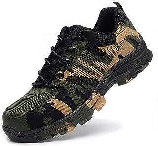 کفش YI XIE Work Toe فولاد کفش های ایمنی برای مردان و زنان کفش های صنعتی و ساختمانی سبک وزن