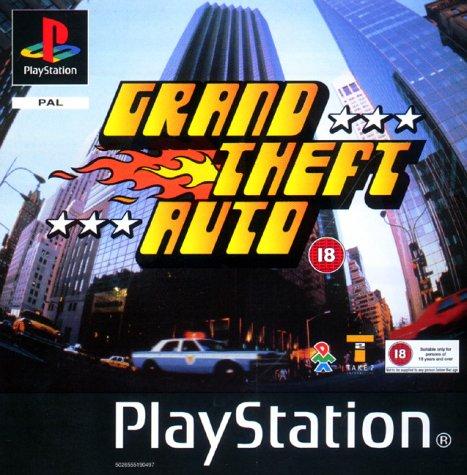 PS1 - GTA 1 - Grand Theft Auto