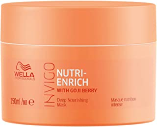 Wella Professionals Invigo Nutri Enrich Deep Nourishing Mask (For Dry and Damaged Hair), 150 ml