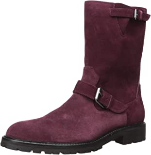 mens purple suede boots