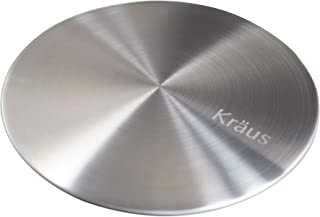 KRAUS Garbage Disposal, Drain Cover, works in any Kitchen Sink