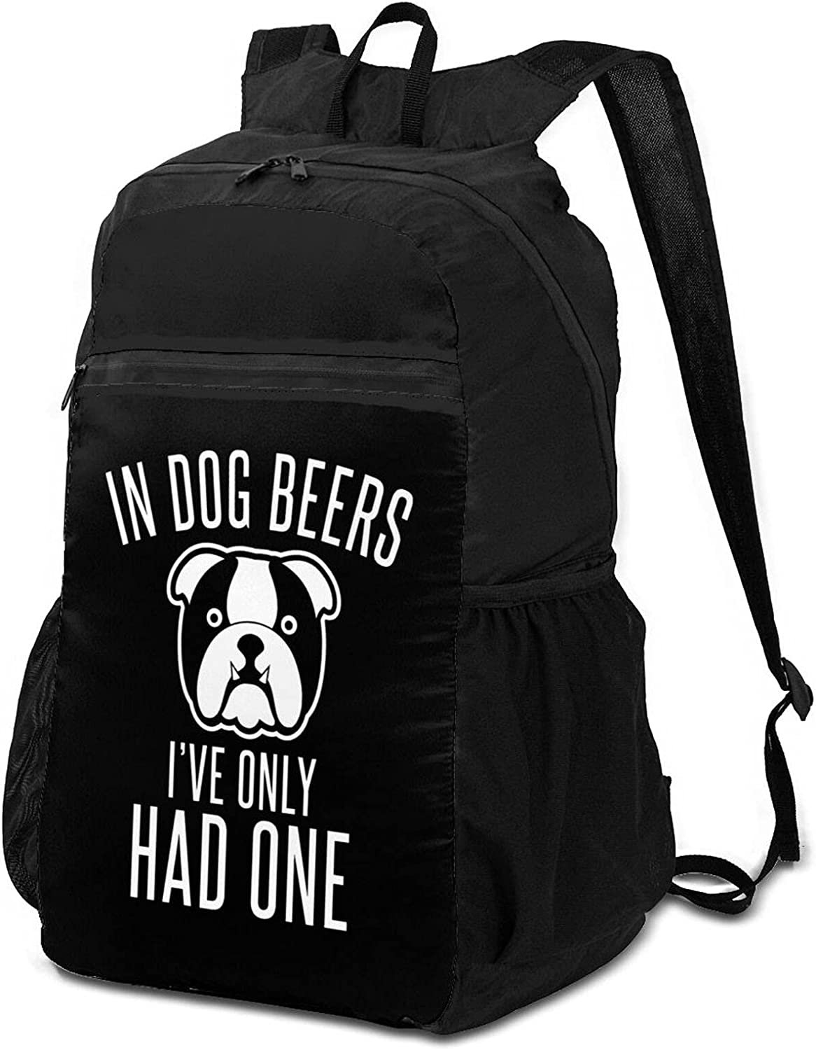 in Dog Beers I've A surprise price is realized Max 54% OFF Only Had Backpack Lightweight One fo Packable