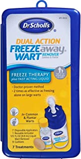 Dr. Scholl's Dual Action Freeze Away Wart Remover 7 Each (Pack of 3)