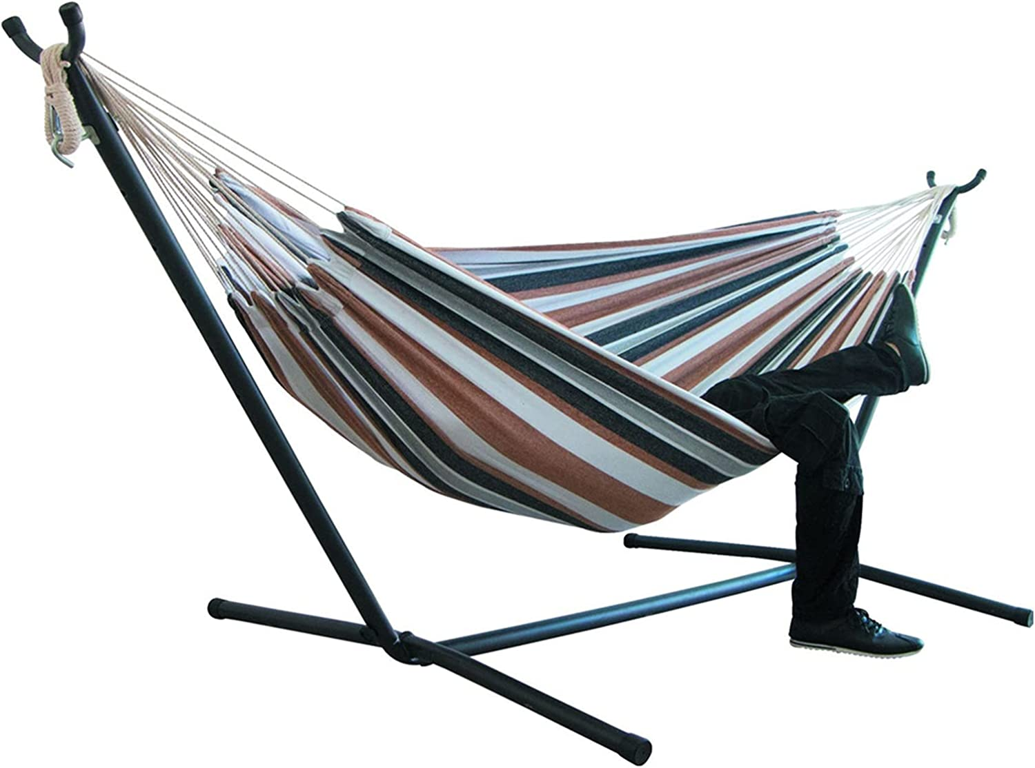 ppqq Very Practical price Two-Person Camping Thicken New life Swinging Hammock