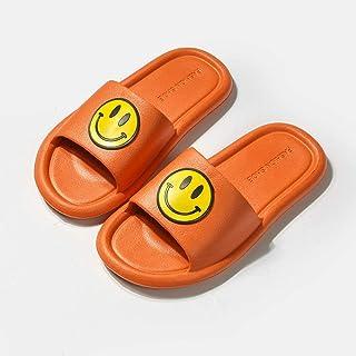 ZZLHHD Chanclas de Playa para niño niña,Zapatillas de Verano, Zapatillas Antideslizantes, Orange_36-37,Zapatillas de Ducha...