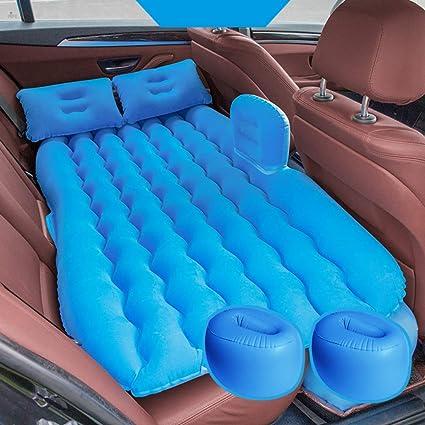 XUDREZ - Colchón hinchable para coche con bomba (portátil ...