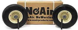 NoAir (2) Grasshopper Flat Free Wheel Assemblies 13x6.50-6 Replace 483865 200 300 400