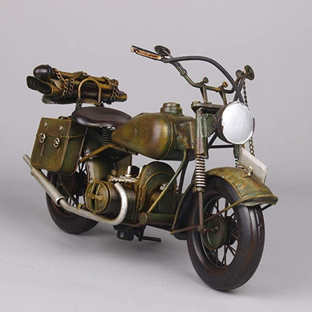 LCUY Creative Bombing new work Decoration Vintage Wrought Model D Ranking TOP5 Motorcycle Iron