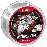 Jaxon Angelschnur Monolith Premium 150m / 0,10mm-0,35mm Spule Einzelschnüre Monofile OVP...