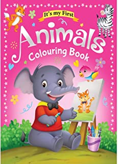 Colouring Book 64 Pages size 28 X 21.6 cm Made in Malaysia (Animals)