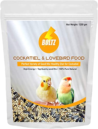 Boltz Food for Cockatiel & Lovebird 1200 Gm