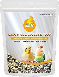 Boltz Food for Cockatiel & Lovebird (1.2 KG)
