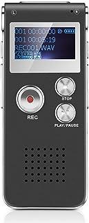 comprar comparacion FONCBIEN Grabadora De Voz Portátil - Grabadora De Voz De 8 GB con Mini Puerto USB, Reproductor De Música MP3