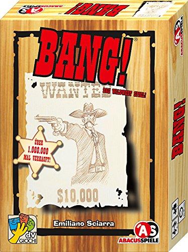 ABACUSSPIELE 69162 - Bang! 4. Edition, Western Kartenspiel
