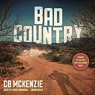 Bad Country audiobook cover art