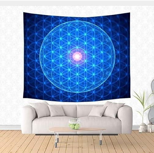 AITU Tapestry Tapis De Yoga Tente De Pique-Nique pour Dormir Décoration Murale Tapisserie Décorative Tapisserie Décorative
