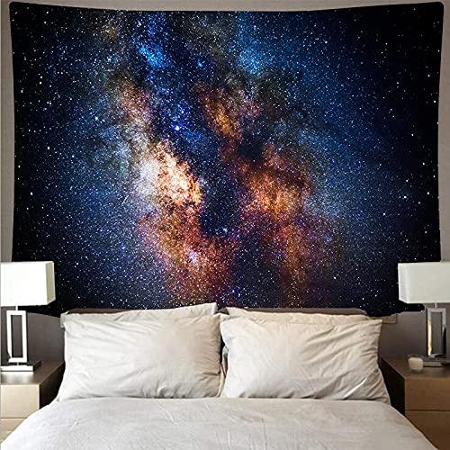 Interestelar espacio planeta tapiz de tela de pared psicodélico colgante de pared toalla de playa manta tela de fondo A4 73x95 cm