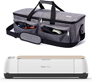 ARSH Carrying Bag Compatible with Cricut Explore Air and Maker, Tote Bag Compatible with Cricut Explore Air 2 and Silhouette Cameo 3,No Accessories Included (Grey)