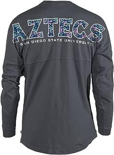 Official NCAA San Diego State Aztecs Women's Long Sleeve Hockey Jersey T-Shirt
