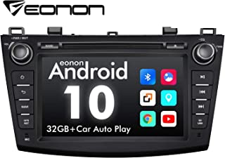2020 Double Din Car Stereo, Eonon 8 Inch Android 10 Car Radio, Applicable to Mazda 3 (2010-2013), Support Apple Carplay/An...