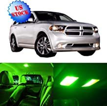 SCITOO LED Interior Lights 12pcs Green Package Kit Accessories Replacement for for 2004-2009 Dodge Durango