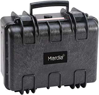 Merdia Pistol Cases Hard Cases Handgun Case Protective Waterproof Revolvers Protective Case with Pre-Cut Foam Light Weight Easy Carrying