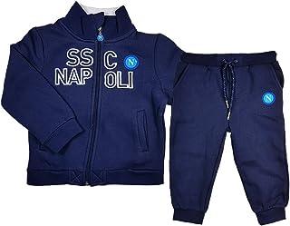 ssc napoli Tuta Felpata con Cappuccio N90527-N90546-N90547