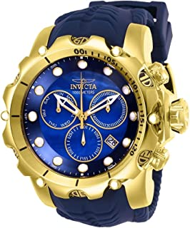 Invicta Men's 52mm Venom Sea Dragon Gen II Swiss Quartz Chronograph Strap Watch